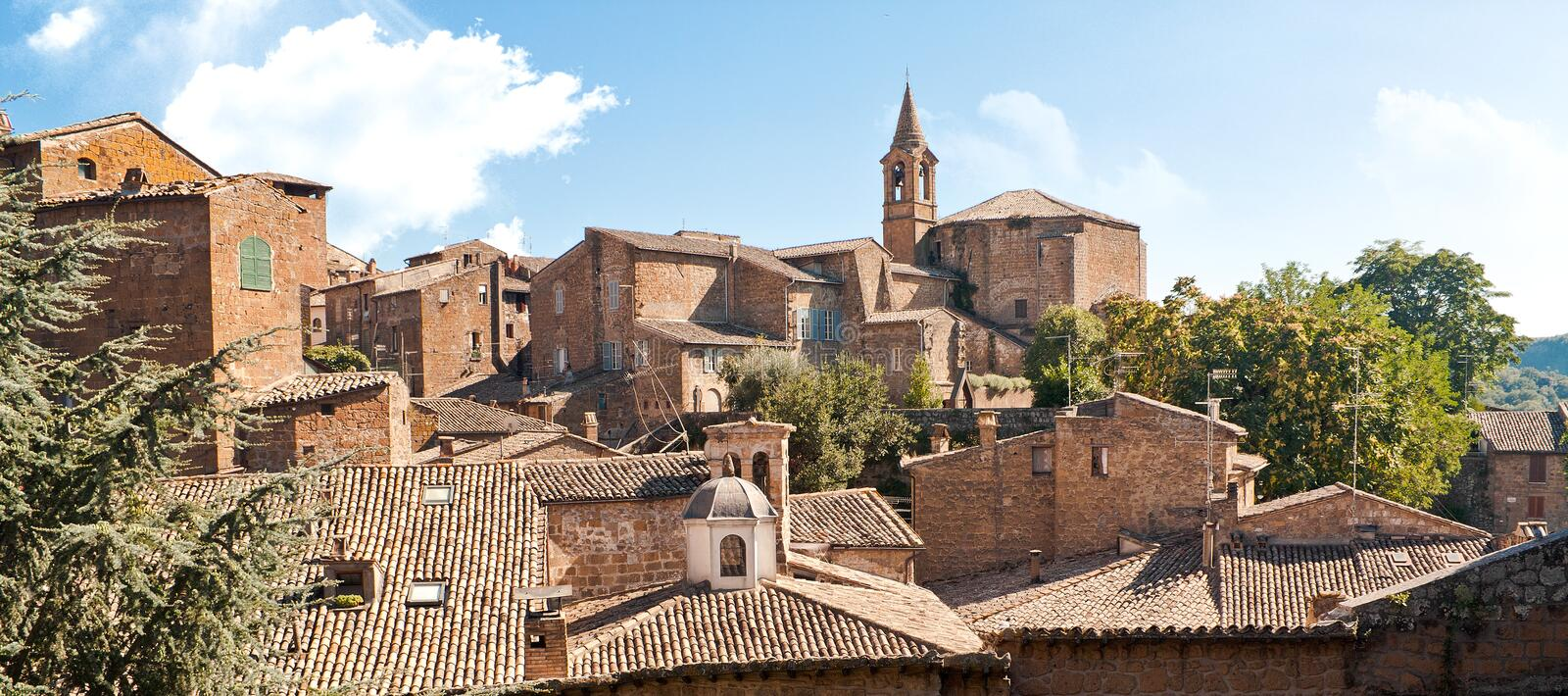 Download Italian Town stock image. Image of houses, roof, scenery - 15849529
