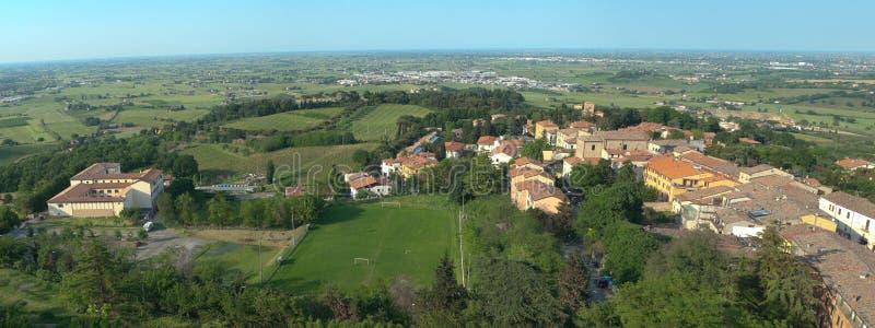 Italian Town Bertinoro. Royalty Free Stock Photography