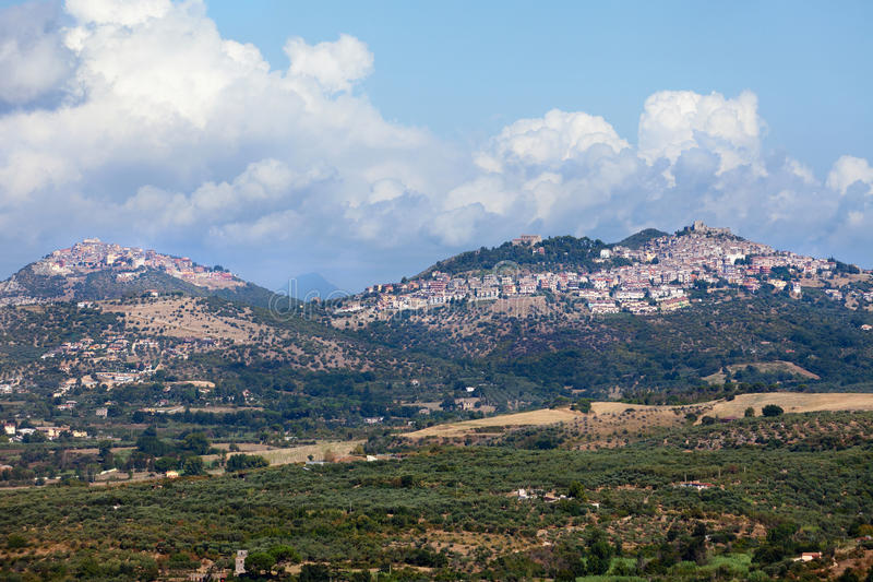 Download Italian Towns Panoramic View Stock Image - Image: 21917365