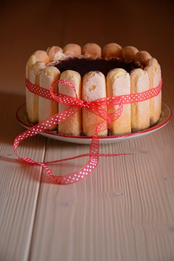 Italian traditional sweet stock image