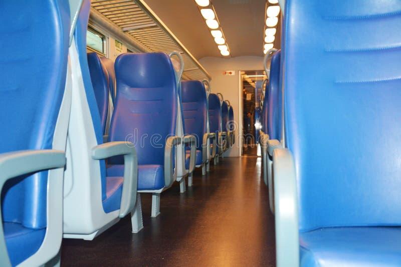 Italian train by night royalty free stock photo
