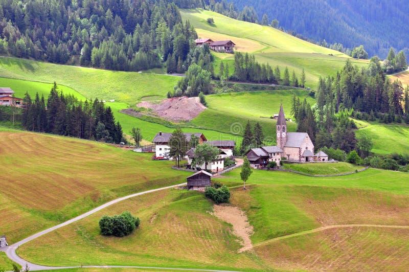 Download Italian Village In Dolomites Stock Photo - Image: 41656626