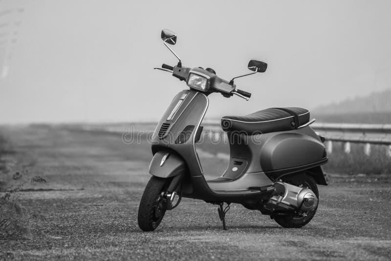 Italian vintage scooter stock photos