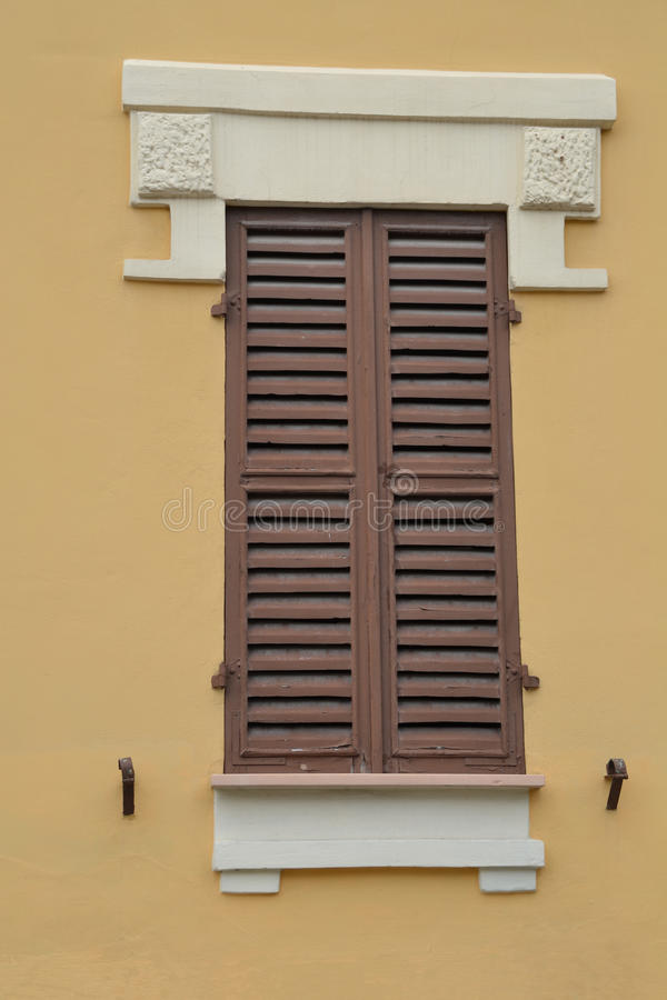 Download Italian window stock image. Image of brown, building - 27051853