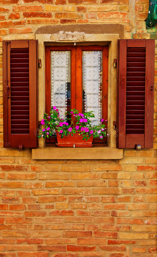 Download Italian Window stock image. Image of culture, open, cracked - 37058169