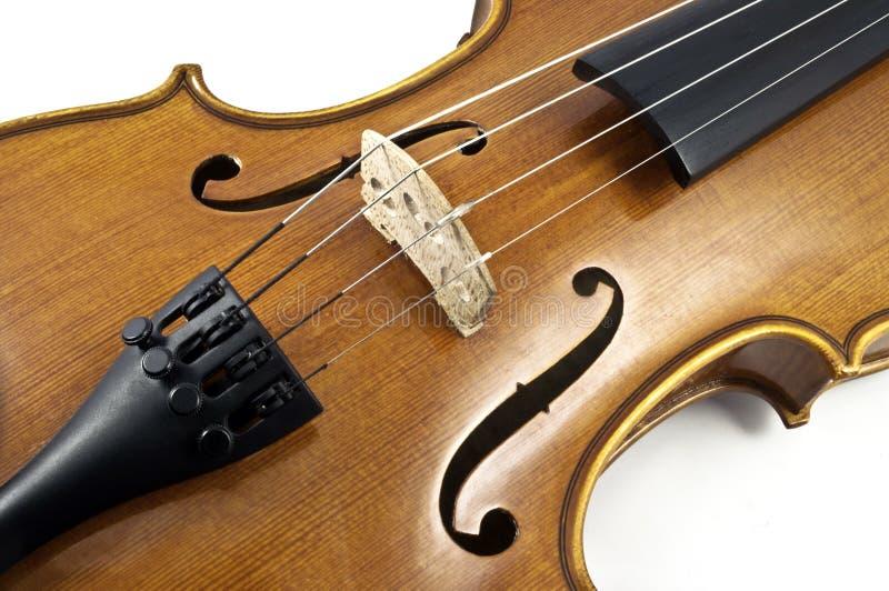 Italian wooden Violin Chord details stock photos