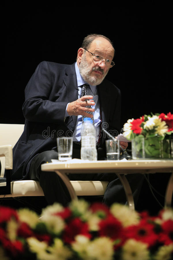 Download Italian Writer Umberto Eco In Istanbul,Turkey Editorial Photo - Image: 30427571