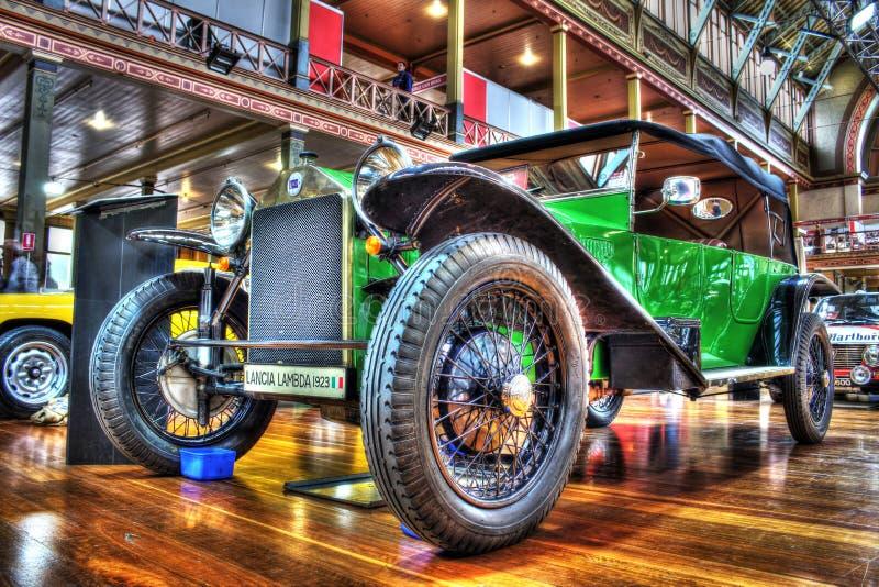 Italiano Lancia Lambda dos anos 20 do vintage foto de stock