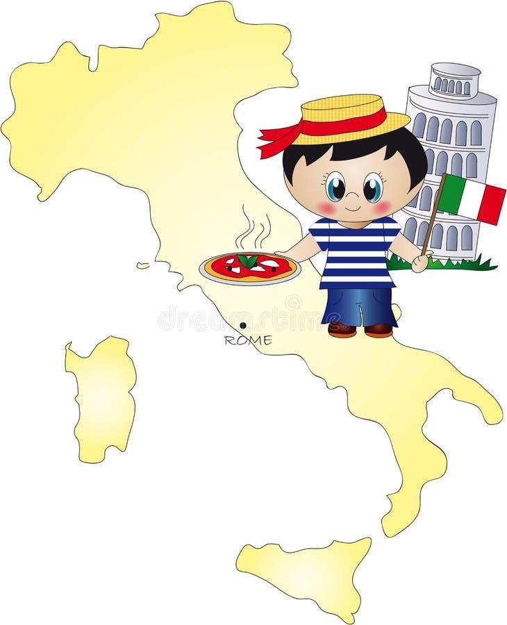 Italien vektor abbildung