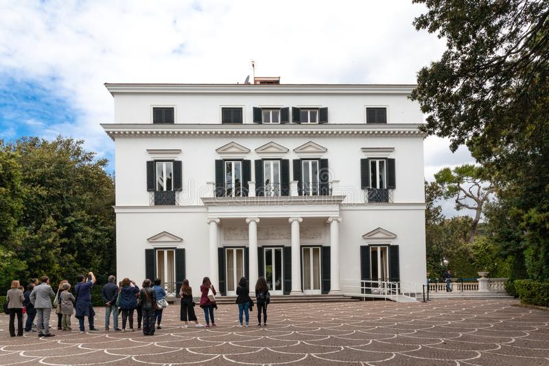 Italien Abruzzo, Sulmona arkivfoto