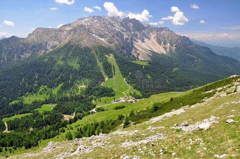 Italien Alps royaltyfri fotografi