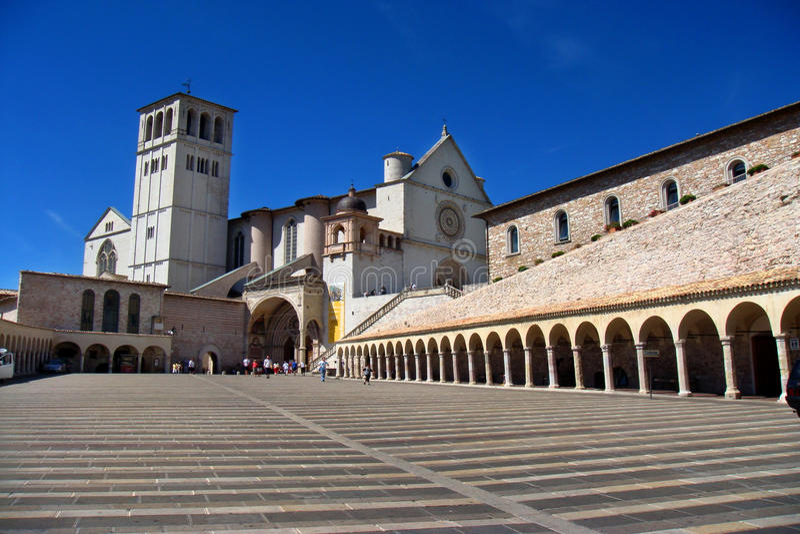 Italien (Assisi) stockbilder