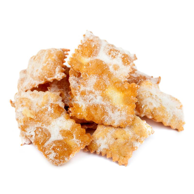 Italien Chiacchiere photos stock