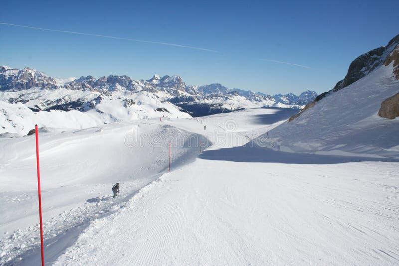 Download Italien Dolomite - Ski Slope Stock Image - Image: 14469179