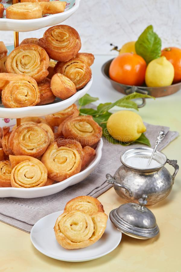 Italien Fried Pastries images libres de droits