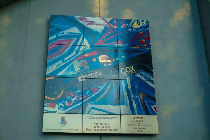 Italien, Imola am 16. Juli 2018: Enzo und Dino Ferrari Race Track stockbild