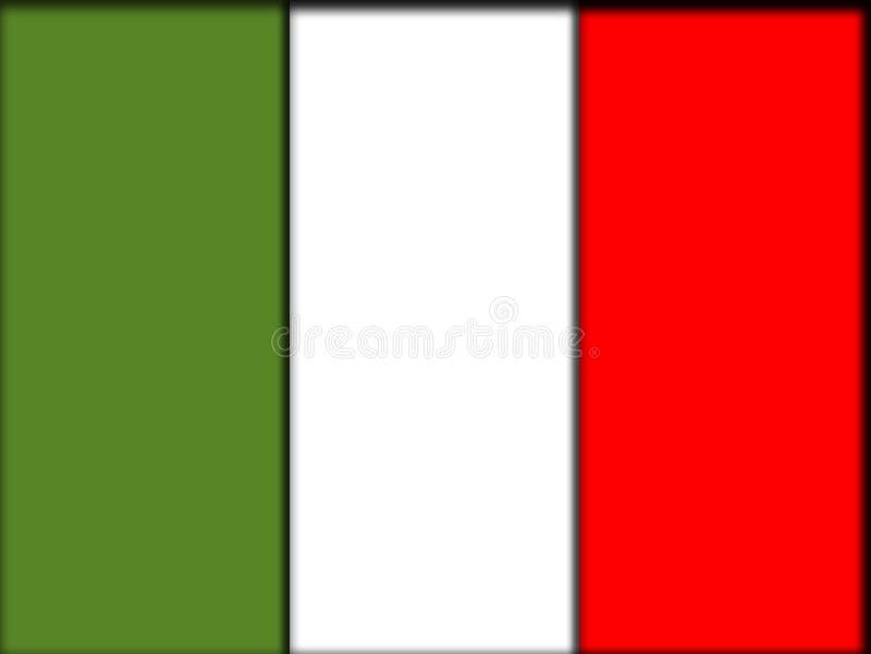Italien-Markierungsfahne lizenzfreie abbildung