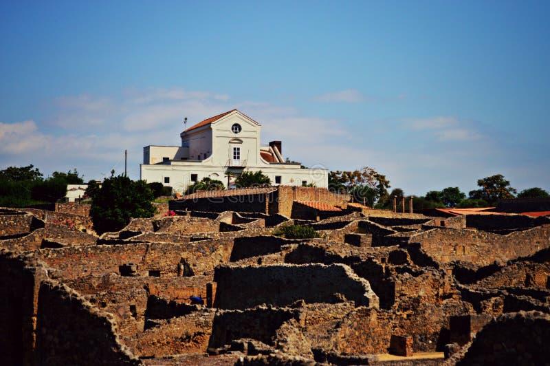 Italien Pompeji lizenzfreie stockbilder
