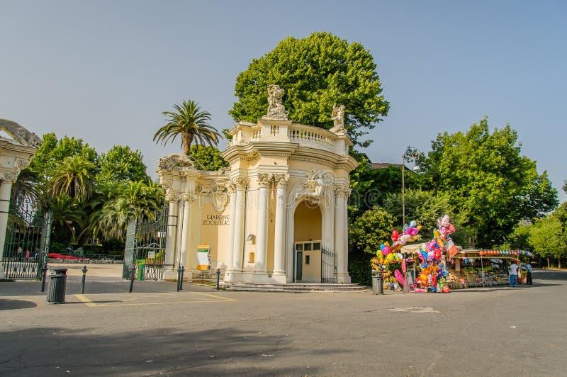 Italien - Rome - Bioparco royaltyfri fotografi