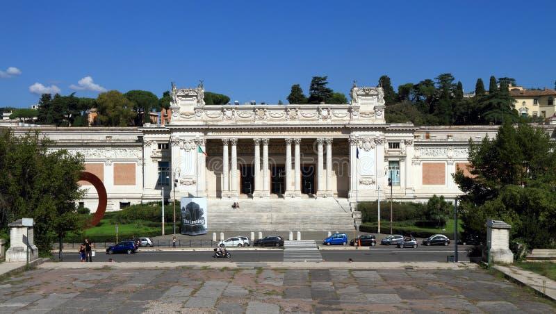Italien Rome: National Gallery av modern konst royaltyfria bilder