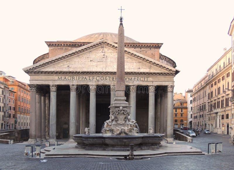 Italien Rome panteonantikvitet Roman Monument royaltyfri foto