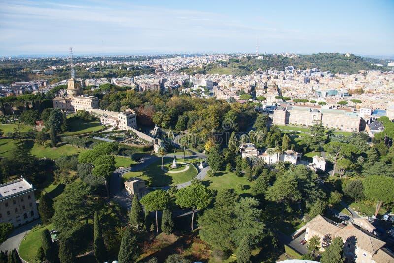 Italien Rome Vaticanenträdgårdar arkivfoton
