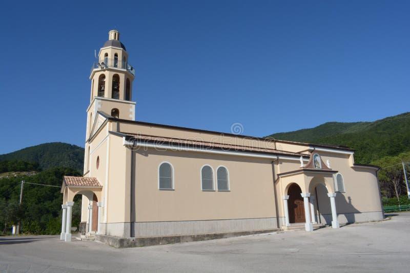 Italien: Schongebiet Madonnas des Eterno, in Montecorvino Rovella, im Juni 2019 stockbilder