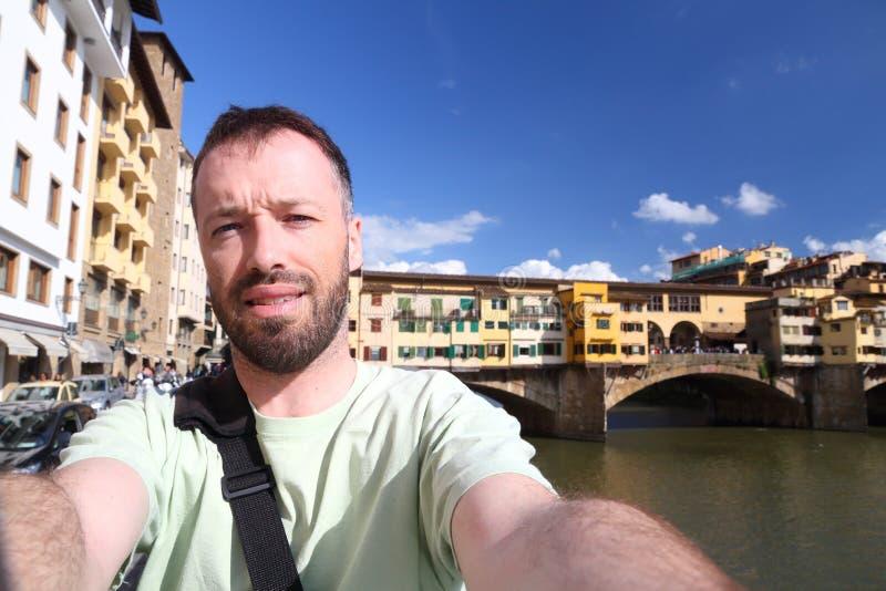 Italien selfie arkivfoton