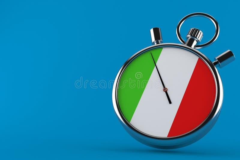 Italien-Stoppuhr vektor abbildung