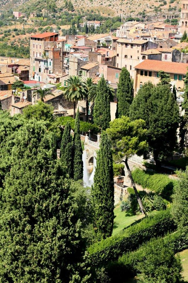 Italien. Tivoli stockfoto