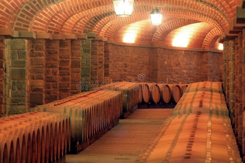 Italien, Toskana, Weinkeller lizenzfreie stockfotos