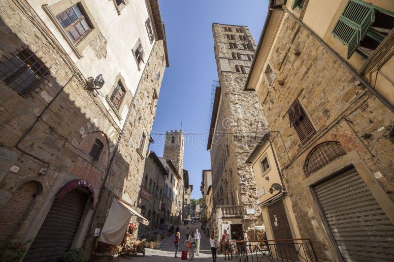 Italien Tuscany, Arezzo arkivbild