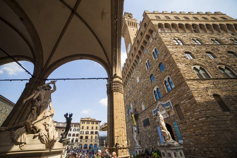 Italien Tuscany, Florence arkivbild