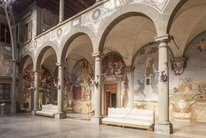 Italien Tuscany, Florence, Petraia villa arkivfoton