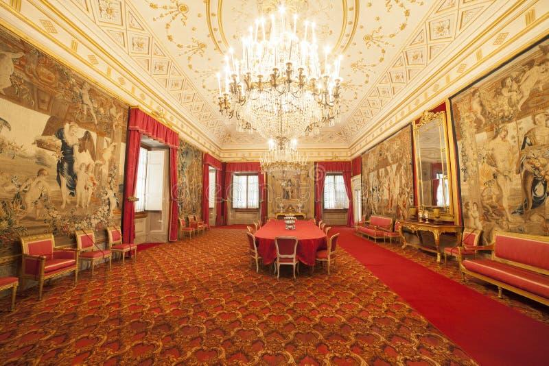 Italien Tuscany, Florence, Petraia villa royaltyfria foton