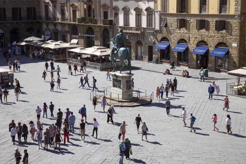 Italien Tuscany, Florence, 1/06/2019, royaltyfria foton