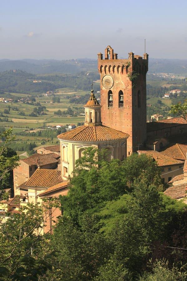 Italien Tuscany, Pisa, San Miniato royaltyfria foton