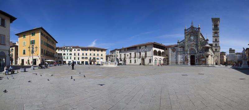 Italien Tuscany, Prato stad arkivbild