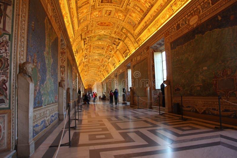 Italien Vatikan-Museen stockbild