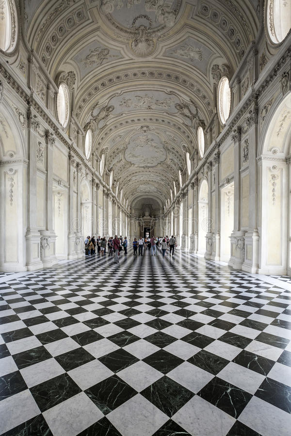 Italien - Venaria Reale royaltyfri fotografi