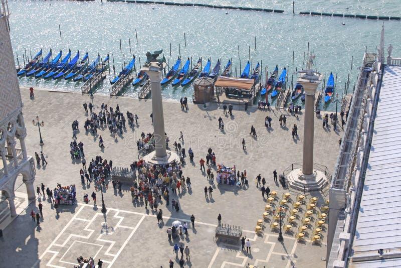 Italien Venedig Quadrat Sans Marco Marktplatz San Marco stockfotografie