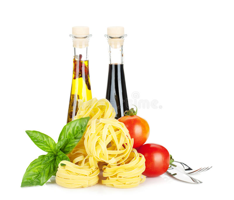 Italienare colors mat arkivbilder