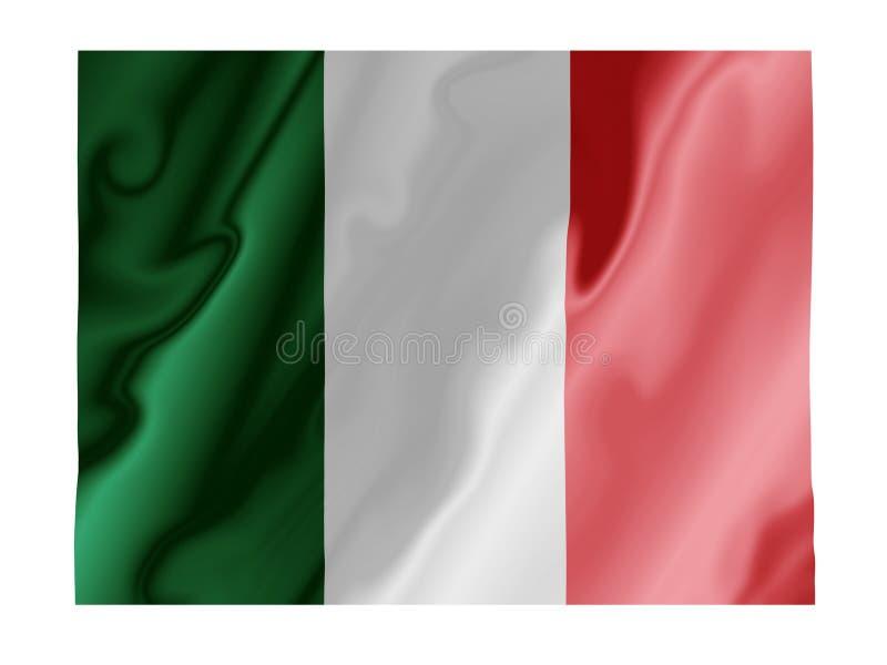 Italienflattern stock abbildung