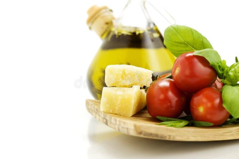 Italienische Bestandteile stockbilder