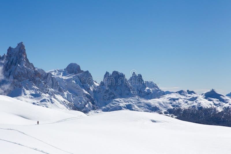 Italienische Dolomit lizenzfreie stockfotos