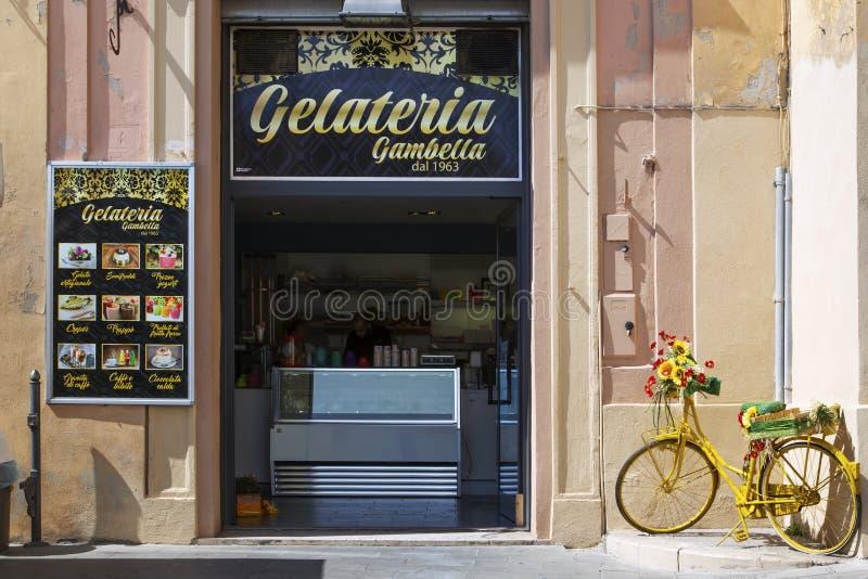 Italienische Eisdiele lizenzfreies stockbild