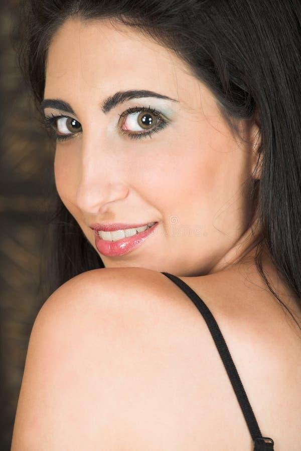 Italienische erwachsene Frau stockbild