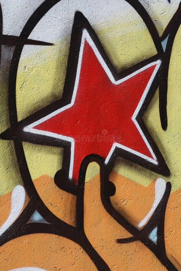 Italienische Graffiti n.4579 stockbild