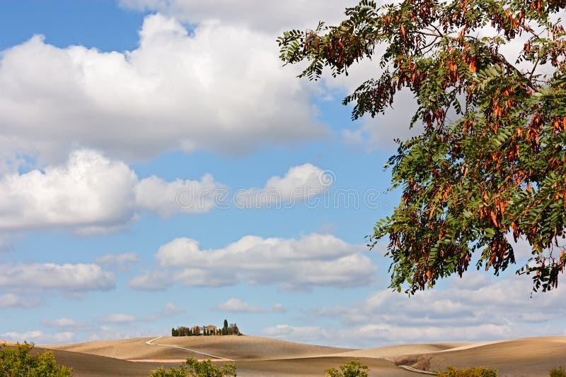 Italienische Hügel lizenzfreies stockfoto