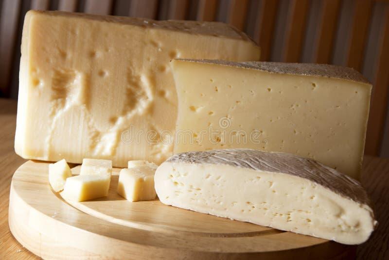 Italienische Käse lizenzfreies stockfoto